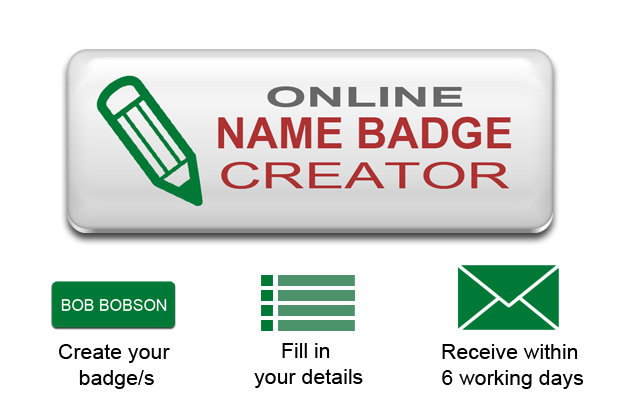Personalised Name Badge - Custom Name Badges Online ...